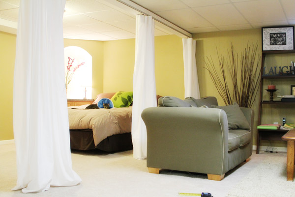 Create Bed Curtains Without a Canopy Bed Frame - Yahoo! Voices