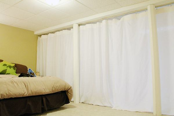 House Project Curtain Room Divider