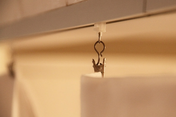 curtain track hardware clips