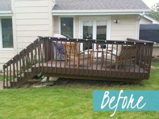 Back/Deck Before