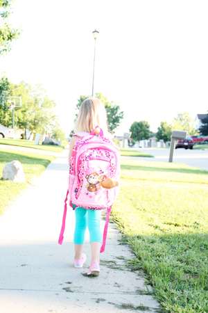 1st day of kindergarten backpack