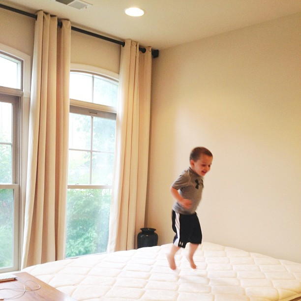 monkey-jumping-on-the-bed
